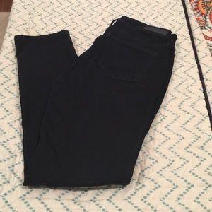 Stretch skinny black skinny jeans
